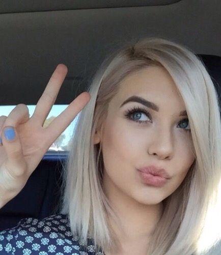 Blonde Short Hair Girl - Best Short Hair Styles