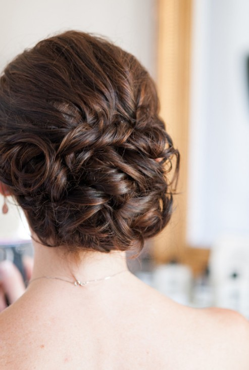 40 Glamorous Updo Hairstyles | Trendynesia